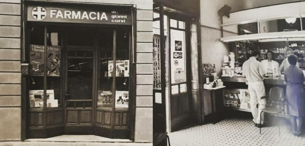 foto storica farmacia corvi